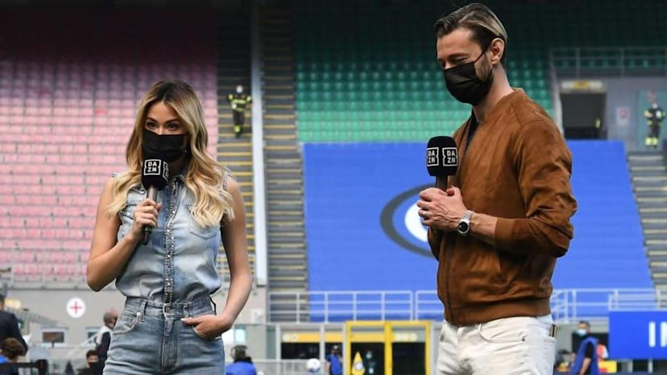 Diletta Leotta e Federico Balzaretti | Alessandro Sabattini/Getty Images
