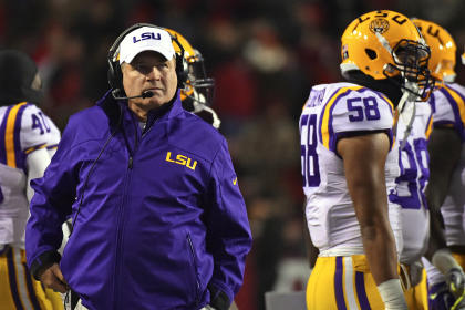 Les Miles and LSU face another name-brand underachiever in the Music City Bowl.