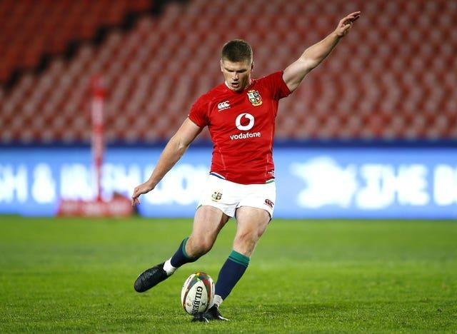 Owen Farrell converted all eight of his side's tries