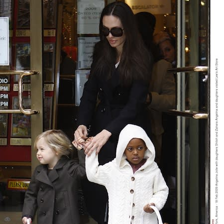 Zahara Jolie-Pitt 'making model plans'