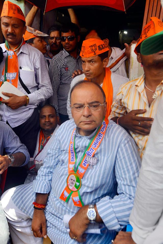 """Expressing """"disappointment"""" with the EC's stand on Modi's rally in Varanasi, BJP leader Arun Jaitley said that polls should not be conducted in the country if security cannot be ensured."""