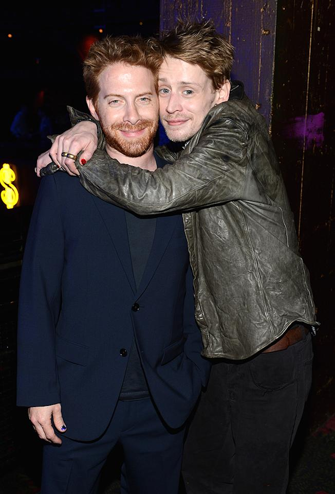"""Despite the concern regarding his health, Macaulay stepped back out in May of this year looking much better than he had previously. The actor, sporting red nail polish, partied with Seth Green at a NYC soiree thrown by Adult Swim. The cable network airs """"Robot Chicken,"""" which is a cartoon Seth created and Macaulay has occasionally provided voices for."""