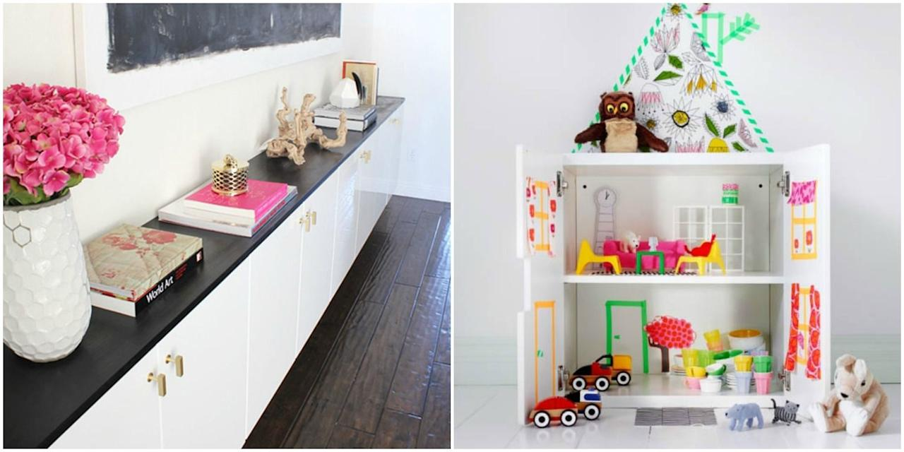 <p>These projects are super-cool — and much easier to take on than an entire DIY kitchen remodel.</p>