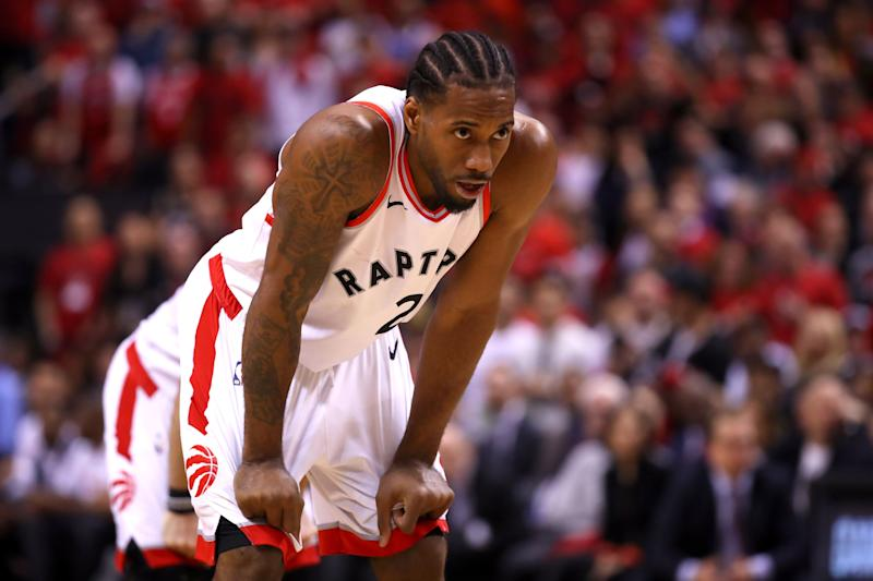 Kawhi Leonard sues Nike over 'Klaw' logo ownership