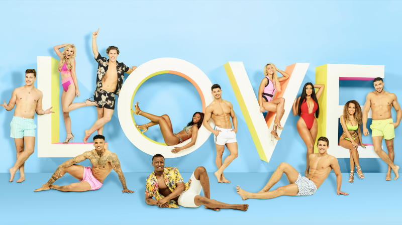Love Island 2019 line-up (Credit: ITV)