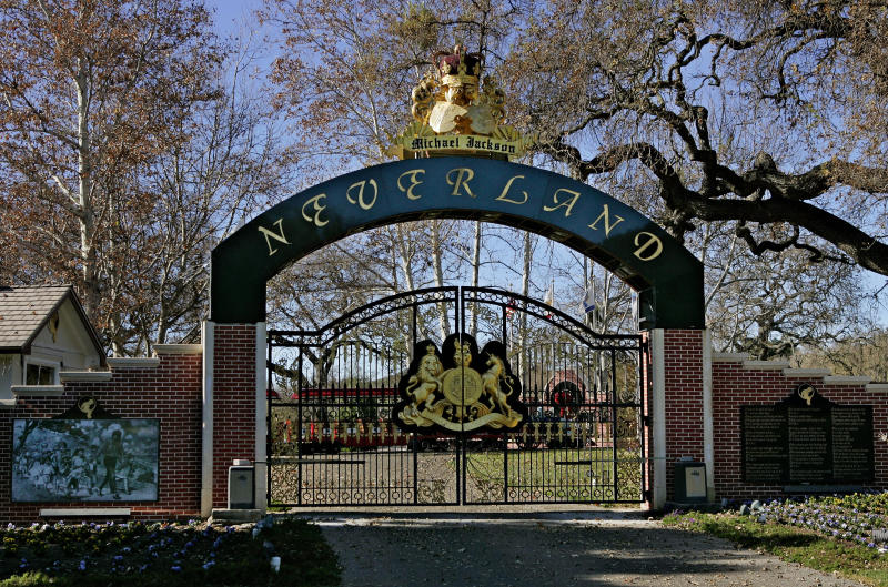 Michael Jackson's Neverland Ranch was shut down in 2008. (AP Photo/Mark J. Terrill, File)