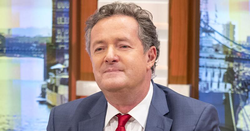 Smug luvvie: Piers didn't hold back during his heated exchange with Rowling (Copyright: Ken McKay/ITV/REX/Shutterstock)
