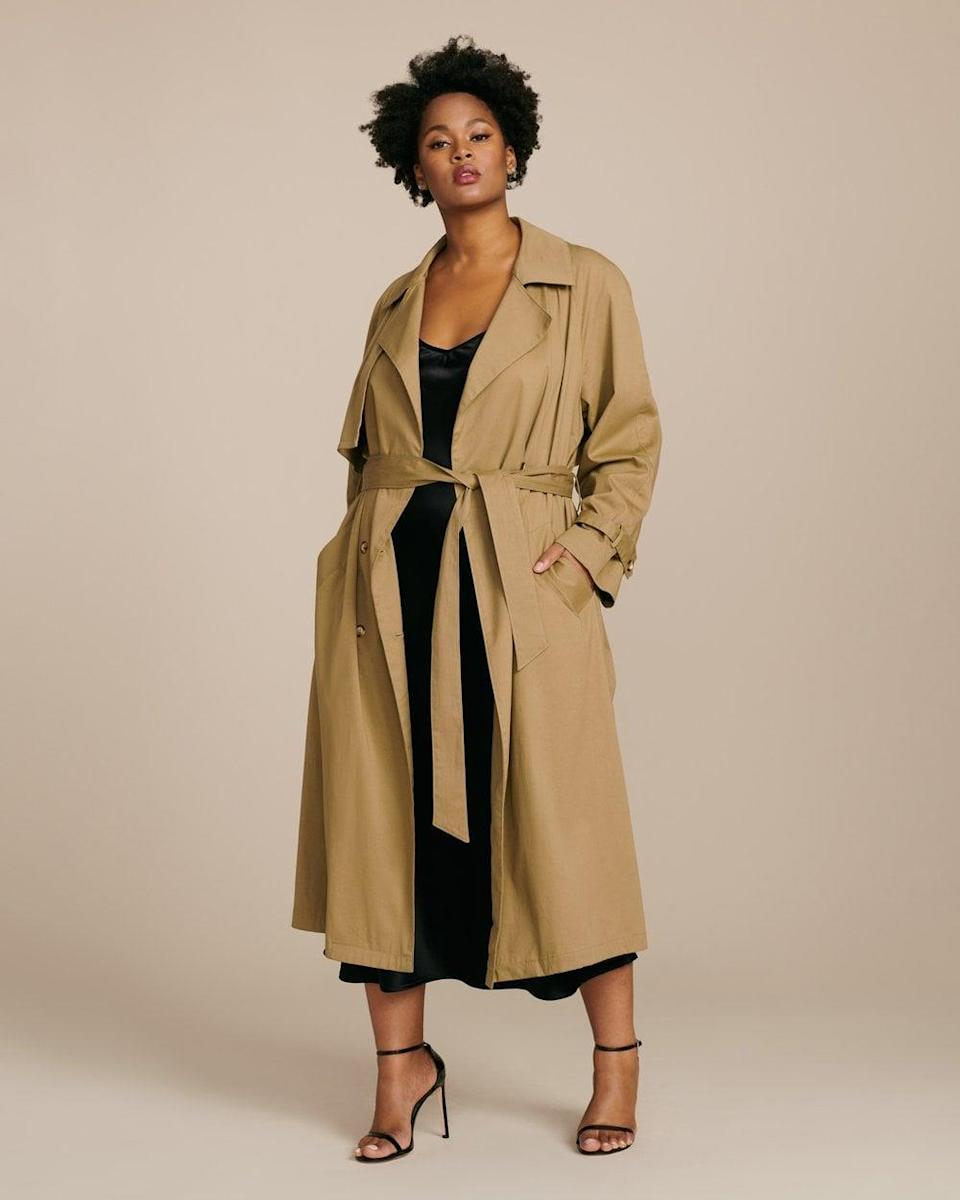 <p>Get all wrapped up in this <span>Baacal Classic Trench Jacket</span> ($425).</p>