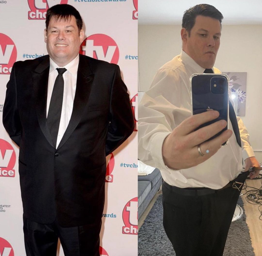 Mark Labbett weight loss transformation before and after