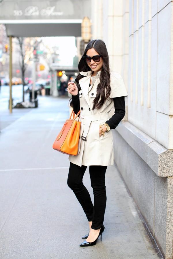 5 blogger street style looks to inspire your wardrobe transition from winter to spring.