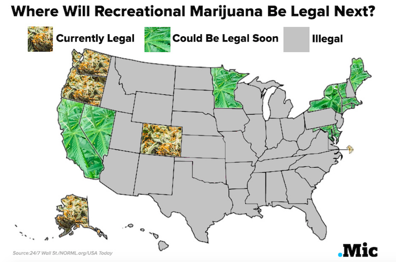 Marijuana Legalization in Vermont 2016: Latest on Pot Debate and State of Legal Weed