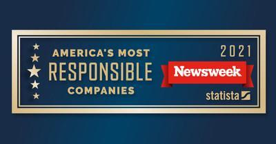 """LyondellBasell appears on Newsweek Magazine's list of """"America's Most Responsible Companies"""" for the second time. The list recognizes companies for their performance in the areas of environmental, social and corporate governance."""