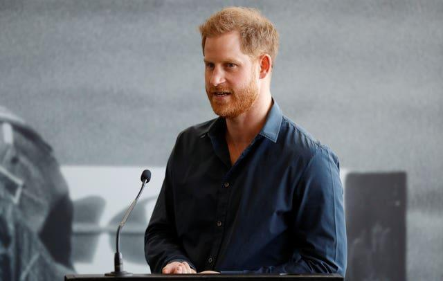 The Duke of Sussex at Silverstone