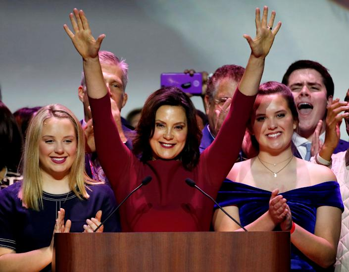Gov.-elect Gretchen Whitmer was one of a host of Democratic women elected statewide in Michigan. (Photo: Reuters)