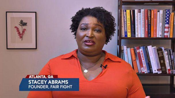 PHOTO: Stacey Abrams on 'The View,' Nov. 12, 2020. (ABC)