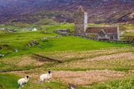 <p>The Isle of Harris is scenic beyond belief. This Scottish island is full of pristine beaches, rugged coastlines, old castles, and gorgeous greenery. It's known for it's Harris Tweed, too, so if you're in the market for some new wool clothing, you won't want to miss the weaving shops here. </p>