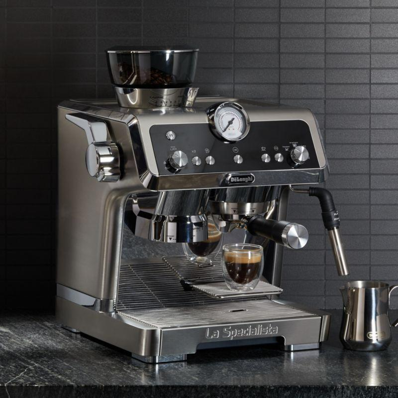 "<p><strong>De'Longhi</strong></p><p>crateandbarrel.com</p><p><strong>$799.95</strong></p><p><a href=""https://go.redirectingat.com?id=74968X1596630&url=https%3A%2F%2Fwww.crateandbarrel.com%2Fdelonghi-la-specialista%2Fs394366&sref=https%3A%2F%2Fwww.goodhousekeeping.com%2Fhome-products%2Fg33797220%2Fautomated-home-products-life-easier-miele%2F"" rel=""nofollow noopener"" target=""_blank"" data-ylk=""slk:Shop Now"" class=""link rapid-noclick-resp"">Shop Now</a></p><p>Delicious espresso with minimal effort is music to a coffee lover's ears. De'Longhi's luxe La Specialista espresso machine makes that possible with all the bells and whistles of your favorite cafe. The grinder automatically regulates the amount of ground coffee for optimal extraction based on the drink size you select, or you can use it manually for more control. The one-lever tamping station helps tamp grounds at the right pressure without mess, and the latte system has two steam functions for lattes and cappuccinos. You can even save your favorite drinks in the menu for one-touch prep.</p>"