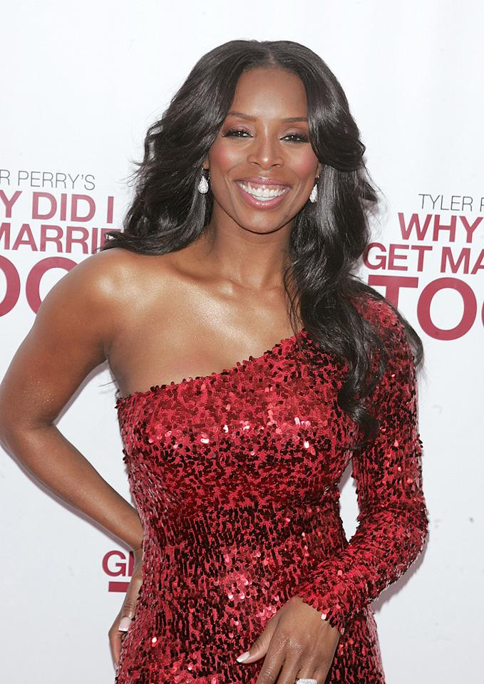 "<a href=""http://movies.yahoo.com/movie/contributor/1804503907"">Tasha Smith</a> at the New York City premiere of <a href=""http://movies.yahoo.com/movie/1810073266/info"">Tyler Perry's Why Did I Get Married Too?</a> - 03/22/2010"
