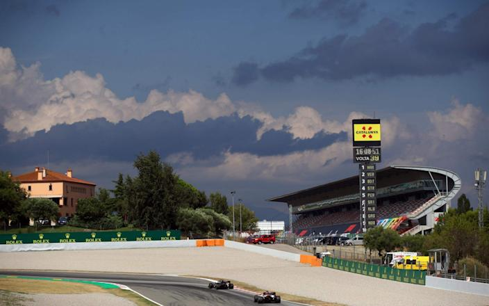 Spanish Grand Prix 2021 What time does the race start TV channel odds - AFP via Getty Images/BRYN LENNON