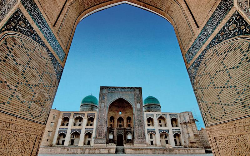 Samarkand, once a key stop-off for traders on the Silk Road