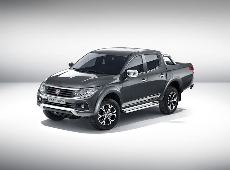 The Mitsubishi Based Fullback Is Fiats First Ever Body On Frame Truck