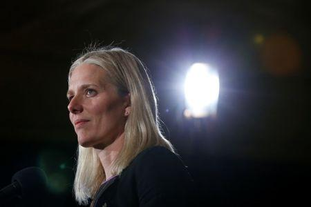 Canada's Environment Minister Catherine McKenna takes part in a news conference during the First Ministers' meeting in Ottawa