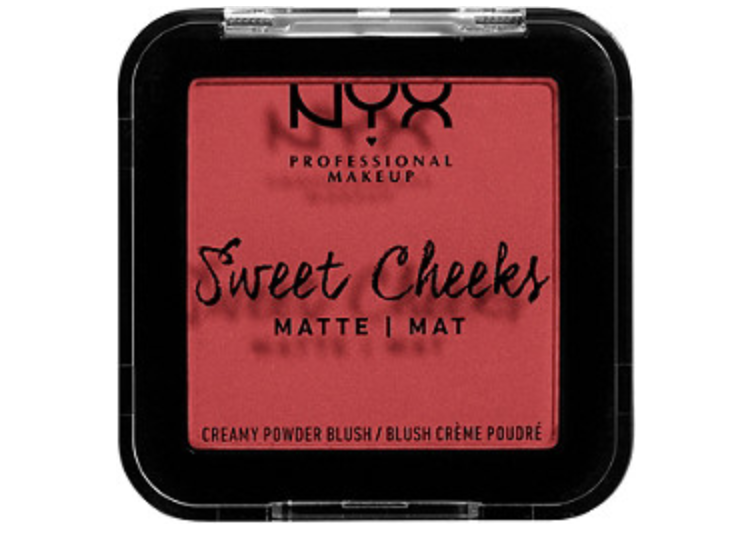 """<p><strong>NYX Professional Makeup</strong></p><p>ulta.com</p><p><strong>$7.50</strong></p><p><a href=""""https://go.redirectingat.com?id=74968X1596630&url=https%3A%2F%2Fwww.ulta.com%2Fsweet-cheeks-creamy-powder-blush-matte%3FproductId%3Dpimprod2007000&sref=https%3A%2F%2Fwww.goodhousekeeping.com%2Fbeauty-products%2Fg35821694%2Fbest-blush-for-dark-skin%2F"""" rel=""""nofollow noopener"""" target=""""_blank"""" data-ylk=""""slk:Shop Now"""" class=""""link rapid-noclick-resp"""">Shop Now</a></p><p>This blush provides a rosy look to dark skin tones, ranging from deep to light. The super-smooth formula provides <strong>a silky matte finish.</strong> There are no animal-derived ingredients or by-products in this formula and it gets the stamp of approval from PETA. </p>"""