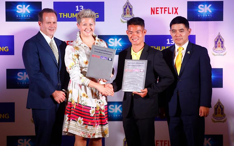 Netflix and SK Global Entertainment have signed a deal to recreate the Thai cave rescue story - REX