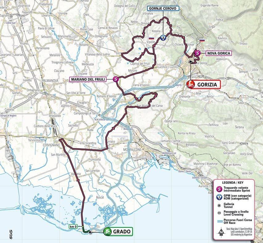 Stage 15 map