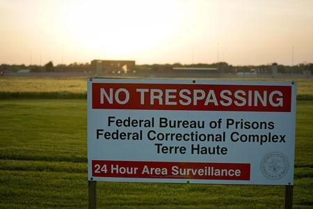 """The sun sets on the Federal Corrections Complex where tomorrow John Walker Lindh, known as the """"American Taliban"""" will be released after the conclusion of his prison sentence in Terre Haute, Indiana, U.S. May 22, 2019. REUTERS/Bryan Woolston"""