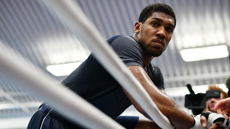 Joshua bans his mother from Klitschko showdown