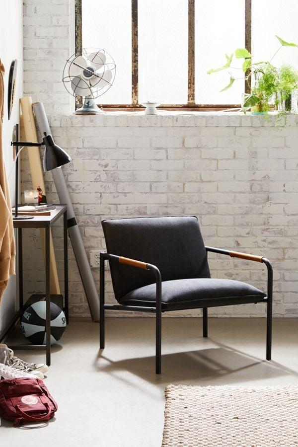 """<p>How sleek and modern does this <a href=""""https://www.popsugar.com/buy/Wesley-Lounge-Chair-487385?p_name=Wesley%20Lounge%20Chair&retailer=urbanoutfitters.com&pid=487385&price=249&evar1=casa%3Aus&evar9=45948314&evar98=https%3A%2F%2Fwww.popsugar.com%2Fphoto-gallery%2F45948314%2Fimage%2F46577042%2FWesley-Lounge-Chair&list1=shopping%2Cfurniture%2Cchairs%2Caffordable%20decor%2Cliving%20rooms%2Caffordable%20shopping&prop13=api&pdata=1"""" rel=""""nofollow"""" data-shoppable-link=""""1"""" target=""""_blank"""" class=""""ga-track"""" data-ga-category=""""Related"""" data-ga-label=""""https://www.urbanoutfitters.com/shop/wesley-lounge-chair?category=chairs&amp;color=004&amp;type=REGULAR"""" data-ga-action=""""In-Line Links"""">Wesley Lounge Chair</a> ($249) look?</p>"""