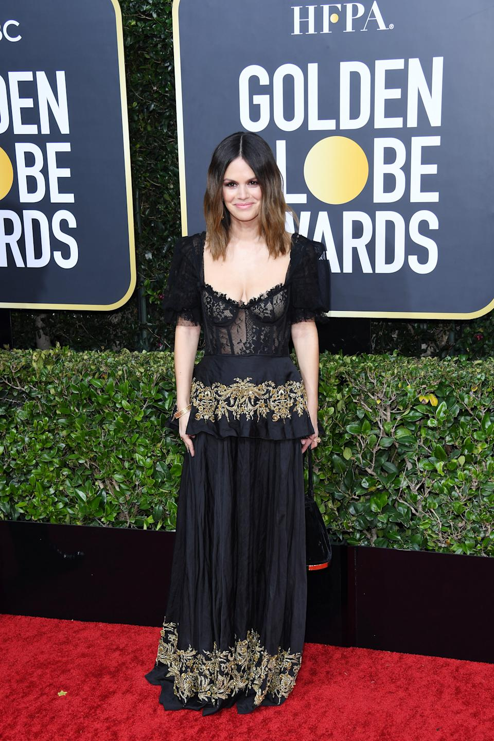BEVERLY HILLS, CALIFORNIA - JANUARY 05: Rachel Bilson attends the 77th Annual Golden Globe Awards at The Beverly Hilton Hotel on January 05, 2020 in Beverly Hills, California. (Photo by Daniele Venturelli/WireImage)
