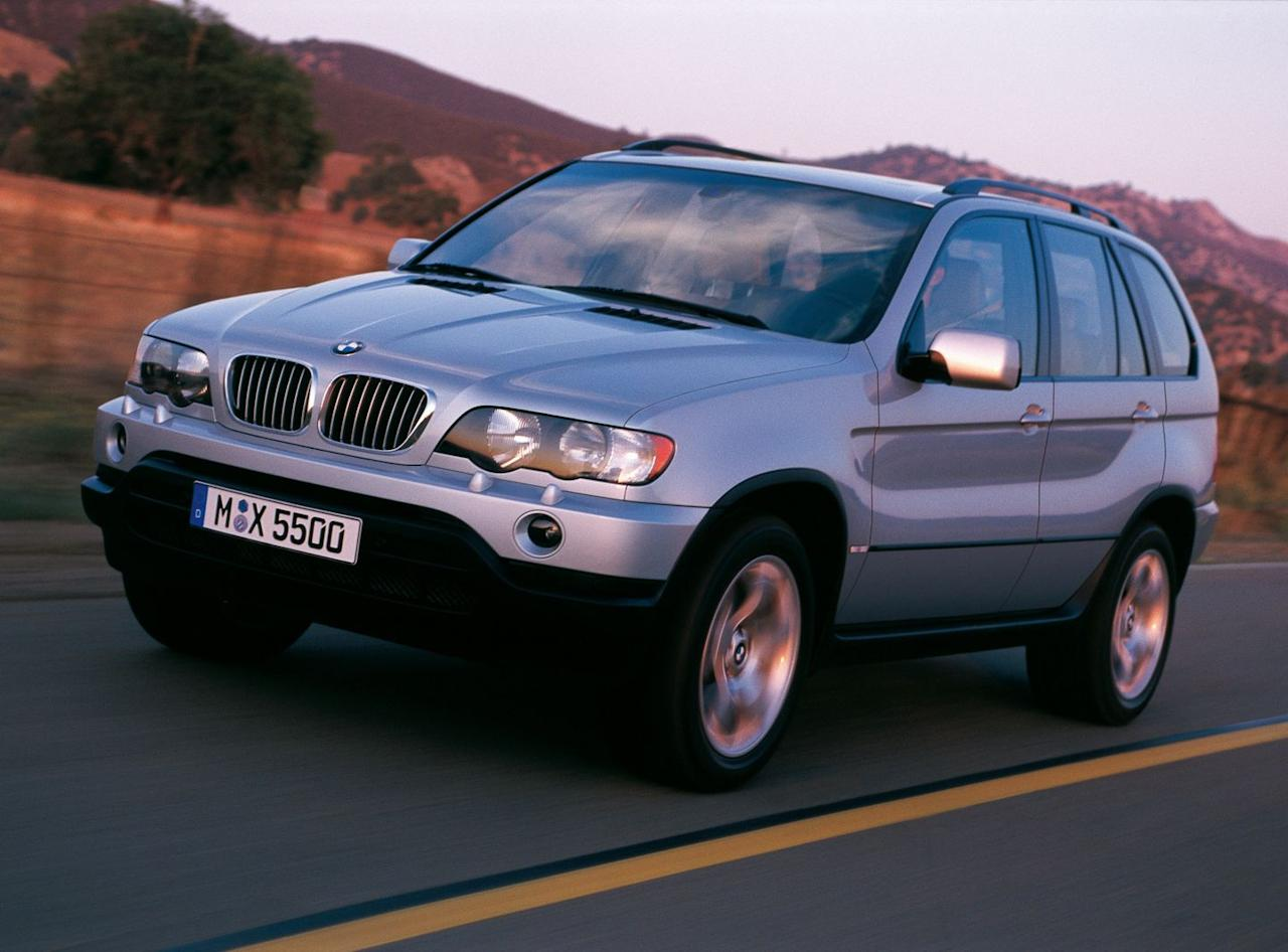 """<p>The first-gen X5 offered a three-pedal version for the same reason that the 7-series did in the late '80s—BMW thought enthusiasts would want it. Clearly, not enough buyers took the """"sport"""" part of """"sport-utility"""" seriously, and sales were slow. Yes, we're aware that BMW called it a """"Sports Activity Vehicle."""" We don't care.</p>"""