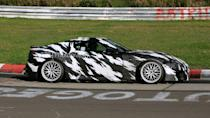 <p>According to spy photographers, the V10 delivered a loud soundtrack channeled to those stacked quad exhaust tips somewhat similar to what you'll find on an F-badged Lexus.</p>