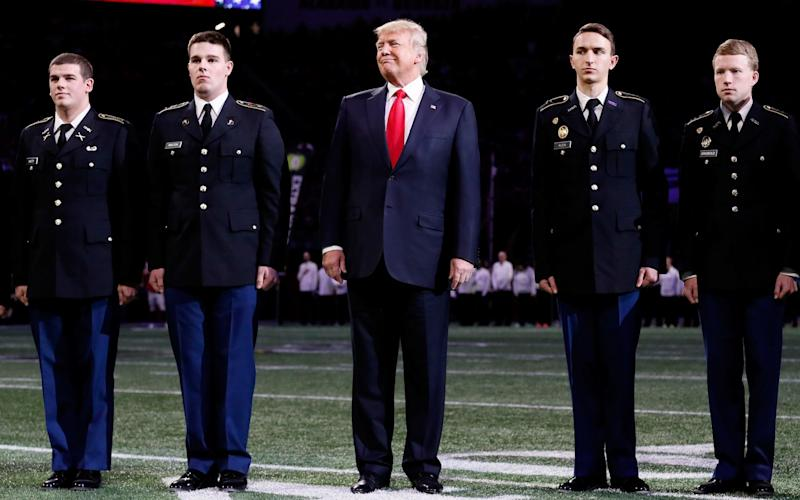 Reports of Donald Trump's height have varied  - Getty Images North America