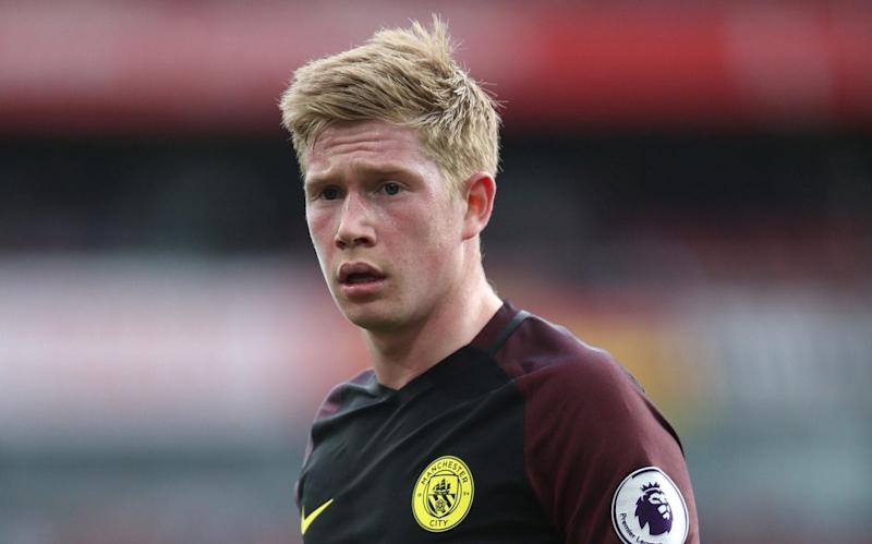 Kevin De Bruyne thinks Chelsea could feel the pressure if Manchester City inflict another defeat - Rex Features