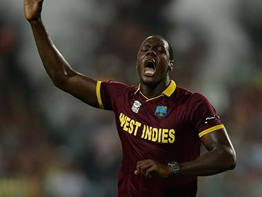 "Brathwaite, 29, who has played three Tests, 28 one-day internationals and 25 T20s for West Indies, said, ""I'm delighted to be joining Kent Spitfires for my first taste of county cricket."