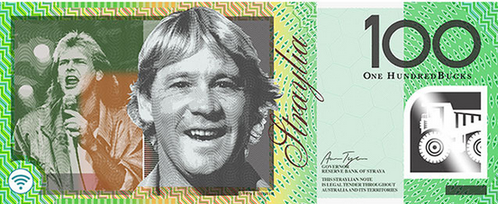 Steve Irwin was also put forward as a new option for the $100 note. Photo: Aaron Tyler.