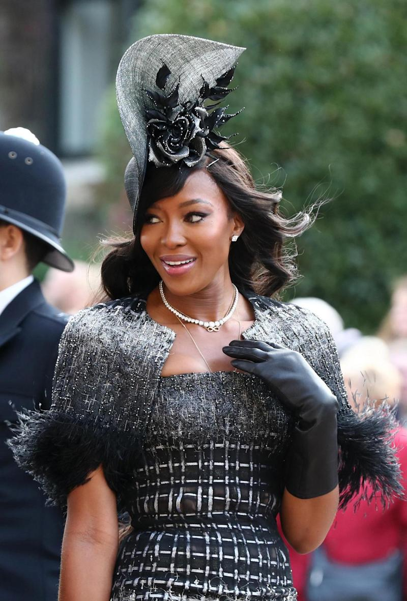 Naomi Campbell was among the early arrivals (PA Wire/PA Images)