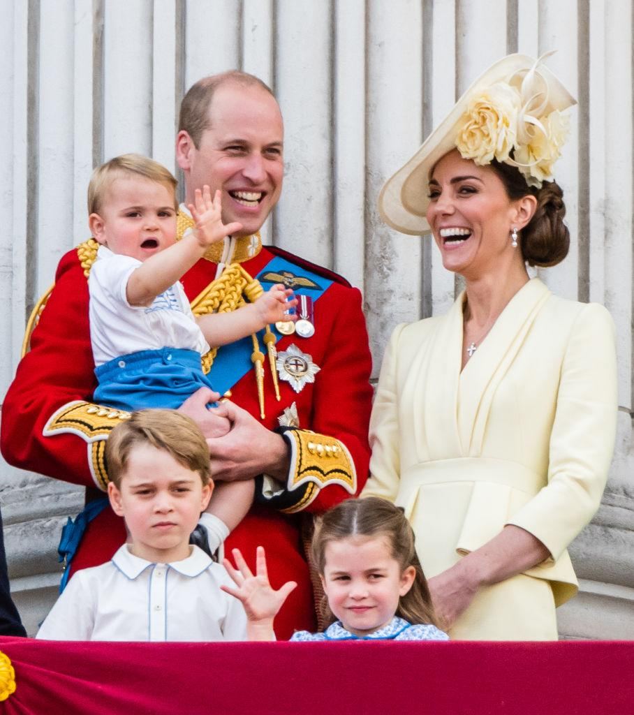 The Cambridge children all made the list [Photo: Getty]