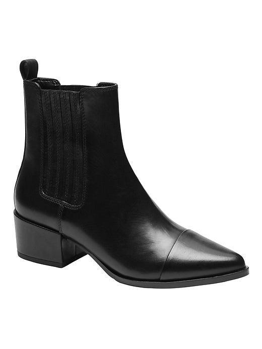 """<br><br><strong>Banana Republic</strong> Leather Chelsea Ankle Boot, $, available at <a href=""""https://go.skimresources.com/?id=30283X879131&url=https%3A%2F%2Ffave.co%2F32dPyvB"""" rel=""""nofollow noopener"""" target=""""_blank"""" data-ylk=""""slk:Banana Republic"""" class=""""link rapid-noclick-resp"""">Banana Republic</a>"""