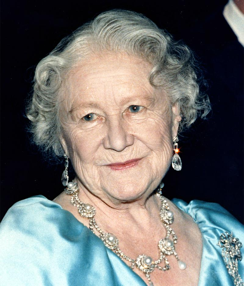Britain's Queen Elizabeth, the Queen Mother, is seen in this undated photo. (AP Photo)