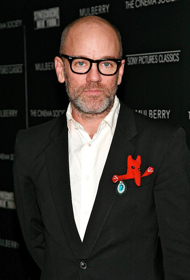 "<a href=""http://movies.yahoo.com/movie/contributor/1800195357"">Michael Stipe</a> at the New York premiere of <a href=""http://movies.yahoo.com/movie/1809873025/info"">Synecdoche, New York</a> - 1015/2008"