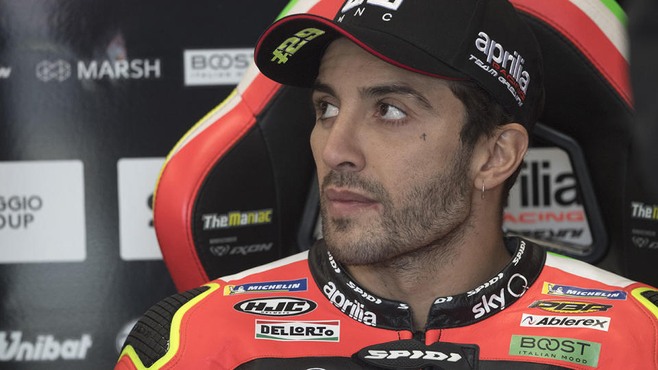 MotoGP racer Andrea Iannone has had his doping ban extended to four years by the Court of Arbitration for Sport. (Photo by Mirco Lazzari gp/Getty Images)