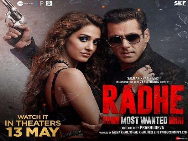 Poster of 'Radhe: Your Most Wanted Bhai' (Image Source: Instagram)