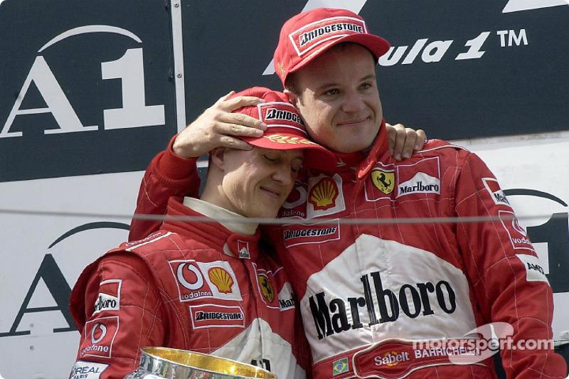 "GP Austria 2002: la victoria del piloto que no ganó<span class=""copyright"">Ferrari Media Center</span>"