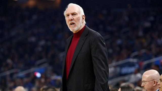 The San Antonio Spurs are enduring a miserable run of form and coach Gregg Popovich was in a dour mood after their latest loss.