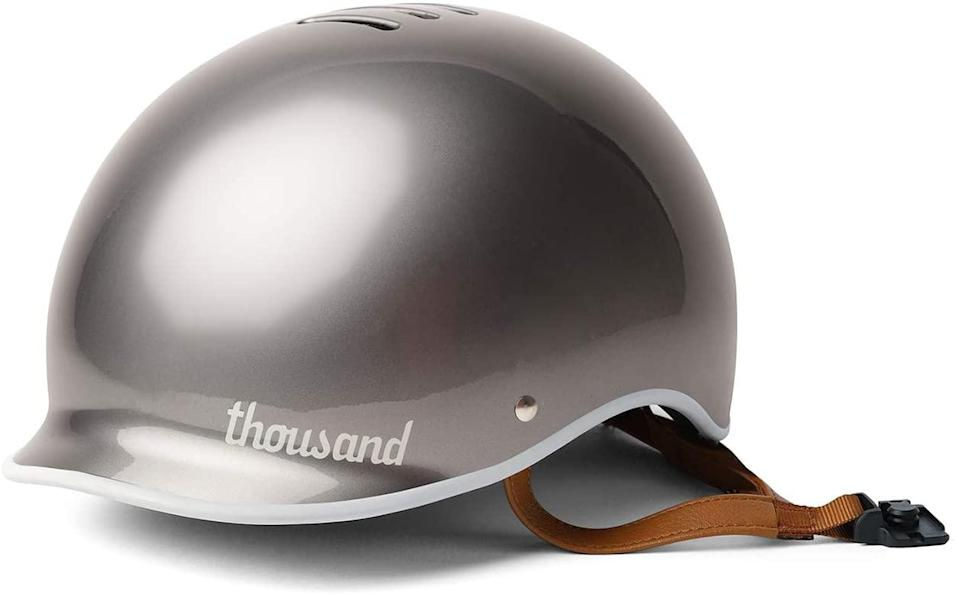 "<h2>Thousand Adult Anti-Theft Guarantee Bike Helmet</h2> <br>""Since I've gone from taking the subway on a daily basis to basically never, I've had to familiarize myself with alternative modes of travel. One such method that I've rediscovered in quarantine is biking, which has become a regular part of my routine now that I'm cycling around Brooklyn to apartment-search. While I'll admit that I used to rarely wear a helmet (I know, I know), I was inspired to do better after working on a <a href=""https://slack-redir.net/link?url=https%3A%2F%2Fwww.refinery29.com%2Fen-us%2F2020%2F05%2F9817947%2Fwomens-bike-helmets"" rel=""nofollow noopener"" target=""_blank"" data-ylk=""slk:recent story"" class=""link rapid-noclick-resp"">recent story</a> all about them. In addition to being sturdy <em>and</em> ridiculously chic, this Thousand helmet is easily the most comfortable helmet I've ever owned — in other words, I no longer have an excuse to not wear it every time I ride."" <em>– Karina Hoshikawa, Beauty Market Writer</em><br><br><em>Shop <strong><a href=""https://amzn.to/2VSMiCL"" rel=""nofollow noopener"" target=""_blank"" data-ylk=""slk:Thousand"" class=""link rapid-noclick-resp"">Thousand</a></strong></em><br><br><strong>Thousand</strong> Adult Anti-Theft Guarantee Bike Helmet, $, available at <a href=""https://amzn.to/3e4zi3l"" rel=""nofollow noopener"" target=""_blank"" data-ylk=""slk:Amazon"" class=""link rapid-noclick-resp"">Amazon</a><br><br><br>"