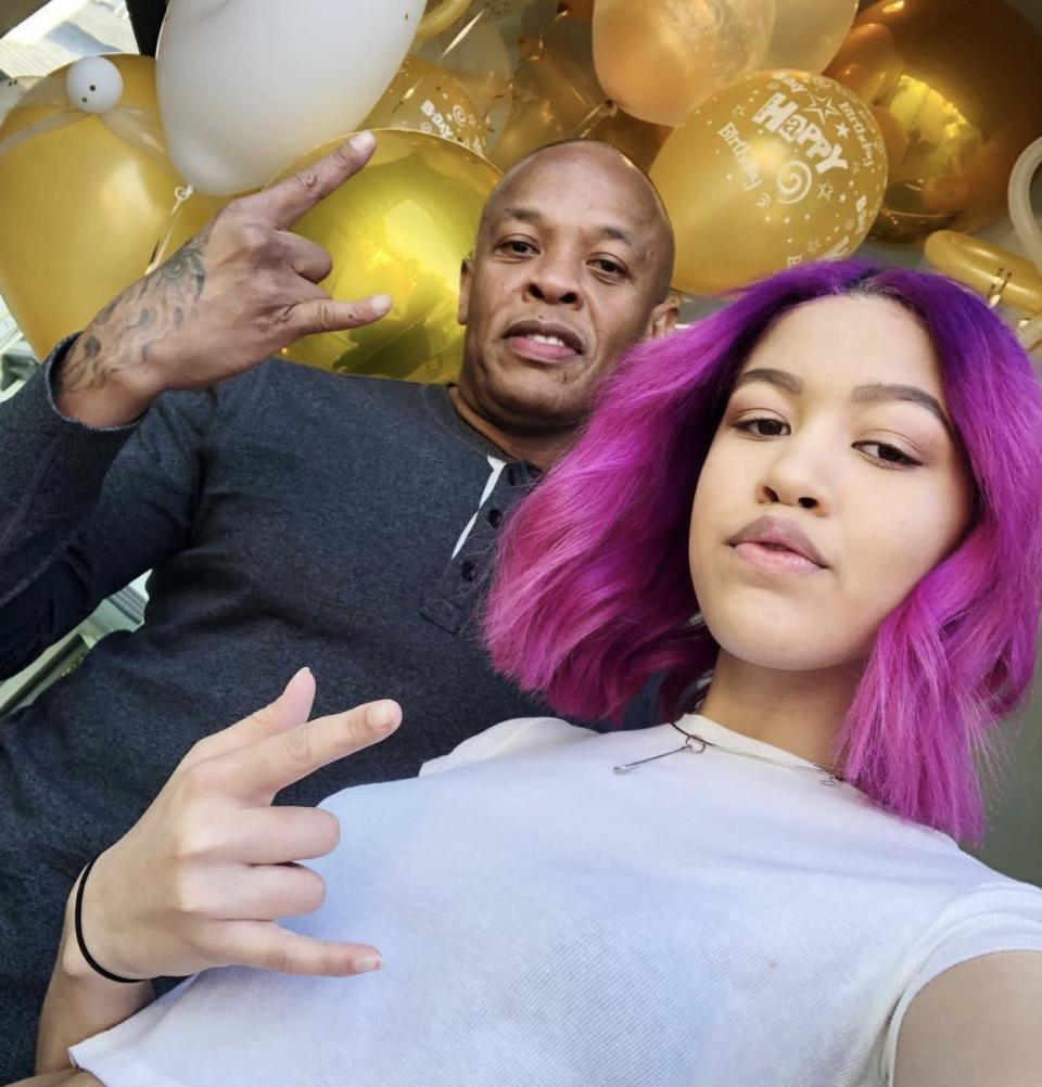 Dr. Dre and daughter, Truly Young. (Photo: Dr. Dre via Instagram)